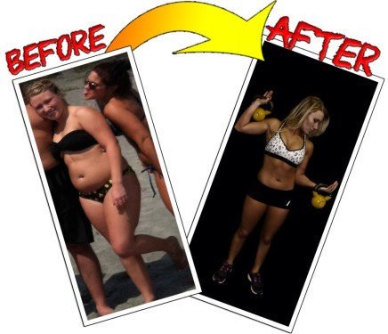 nicolette is a fat loss client in Matawan's bootcamp gym