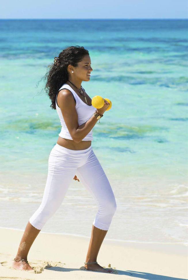 Pattaya beach fitness