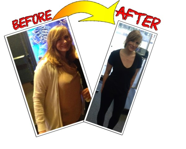 steph messa is a fat loss client at Freehold. GTZ has personal training and bootcamp