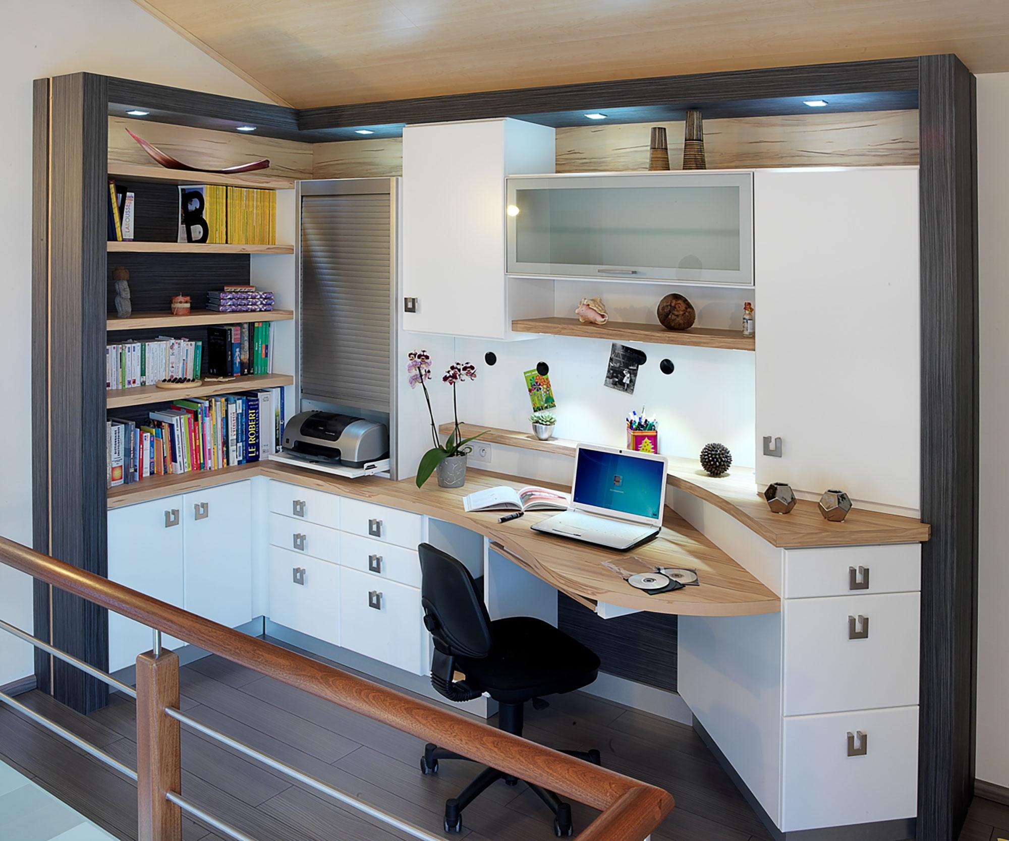 fabrication de bureaux et dressings sur
