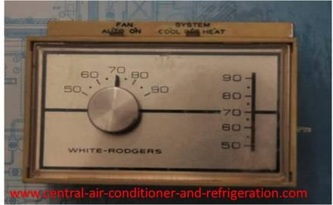 Ac Run Capacitor Wiring Diagram Thermostat Gray Cooling Man Air Conditioning Repair Advice