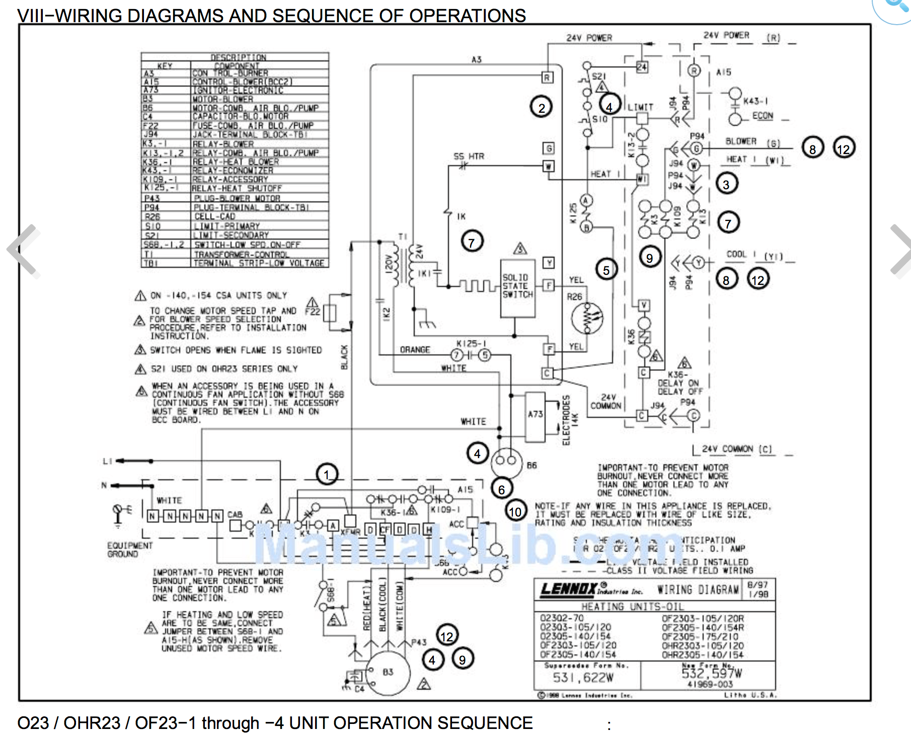 hight resolution of  lennox pulse heating and air conditioning wiring diagams gray cooling man air on contactor schematic lennox