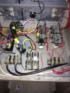Electric furnace  Gray Furnaceman Furnace Troubleshoot and Repair