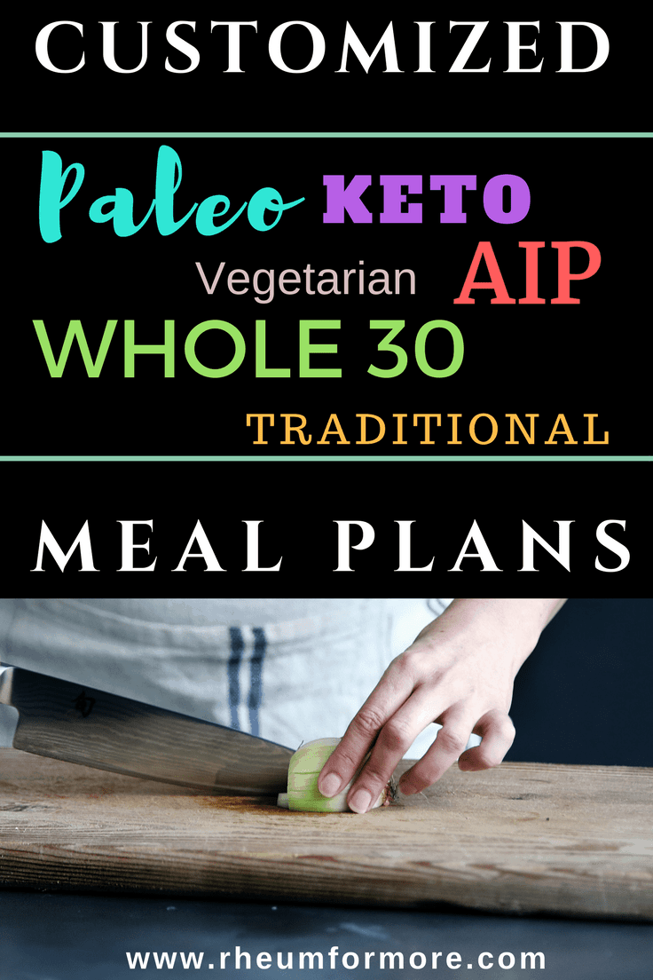 Make following a Paleo, Keto, Vegetarian, AIP, Whole30, or traditional diet a breeze with completely customizable meal plans.