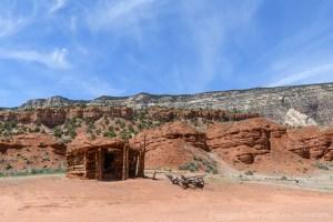 Abandoned homestead in Dinosaur National Monument