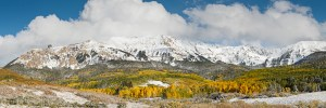 Western Ridge of the Sneffels Range of Colorado