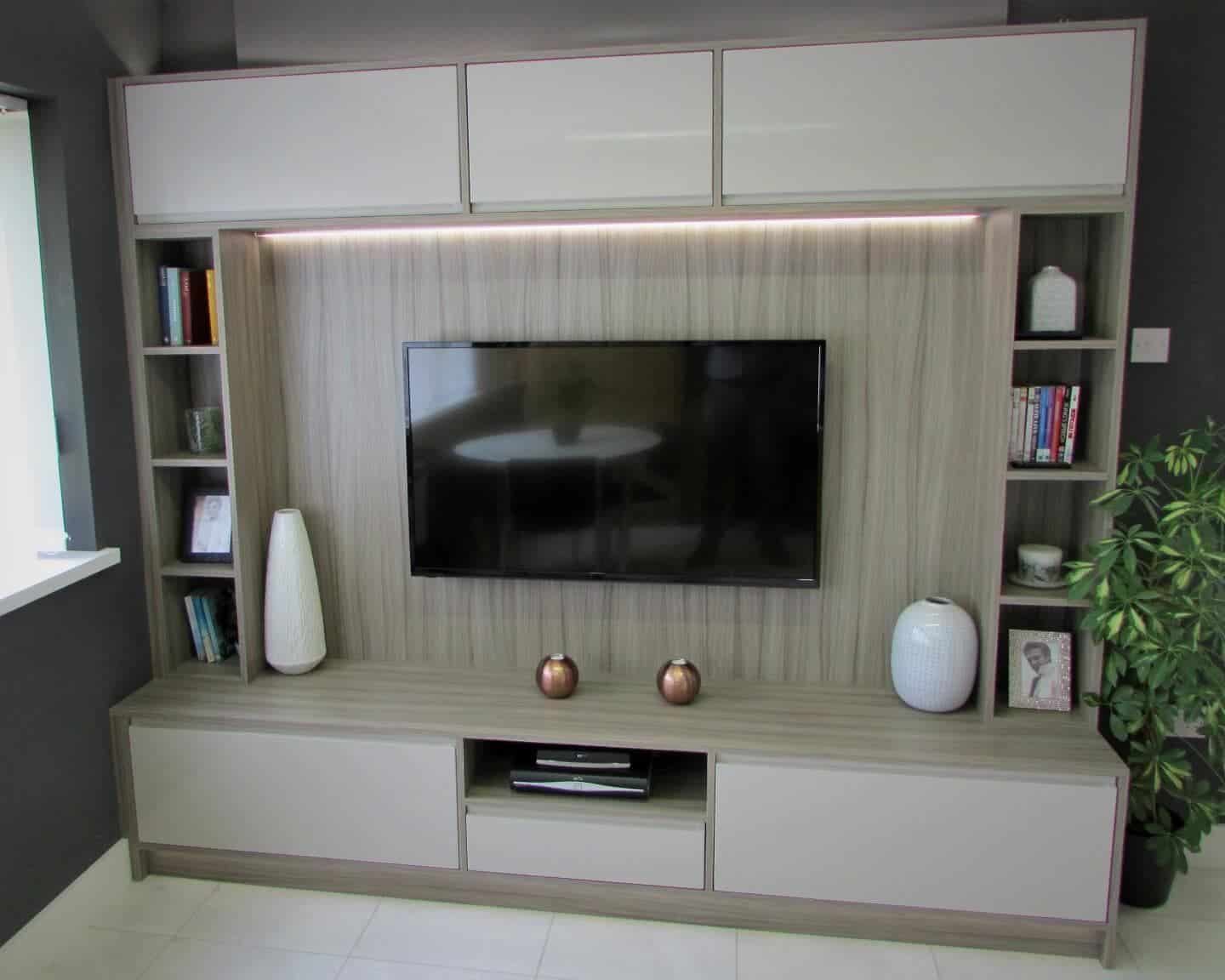 living room media furniture tiny set norwich grays fitted norfolk