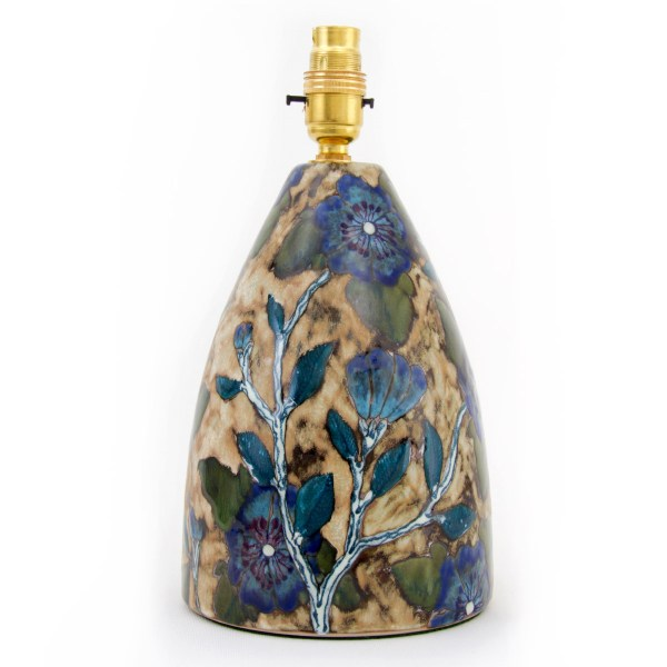 Blue Roses of Sharon Conical Lamp