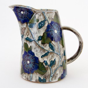 Blue Roses of Sharon Toucan Jug