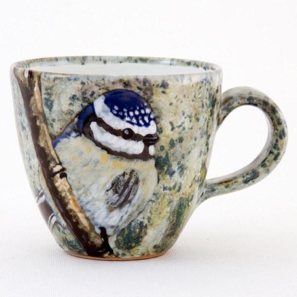 Blue Tit Tavs Mug