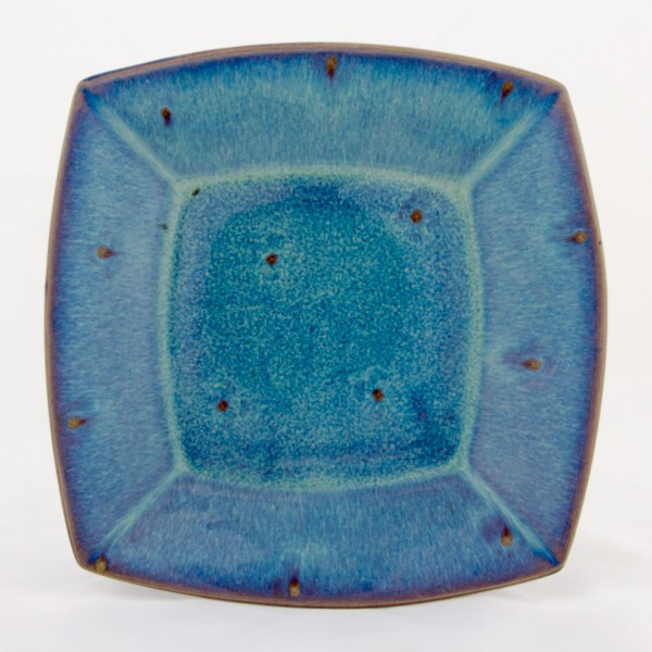 Forget Me Not Square Plate