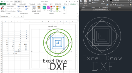 Sample Drawing DXF 2