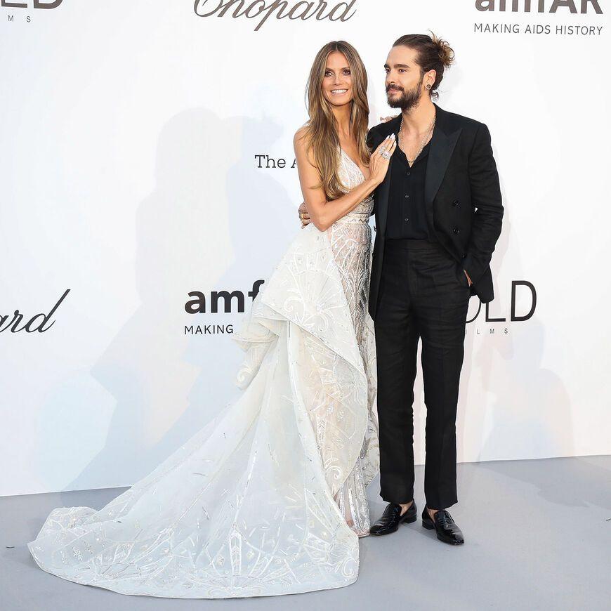 Alles was wir ber das Brautkleid von Heidi Klum fr ihre