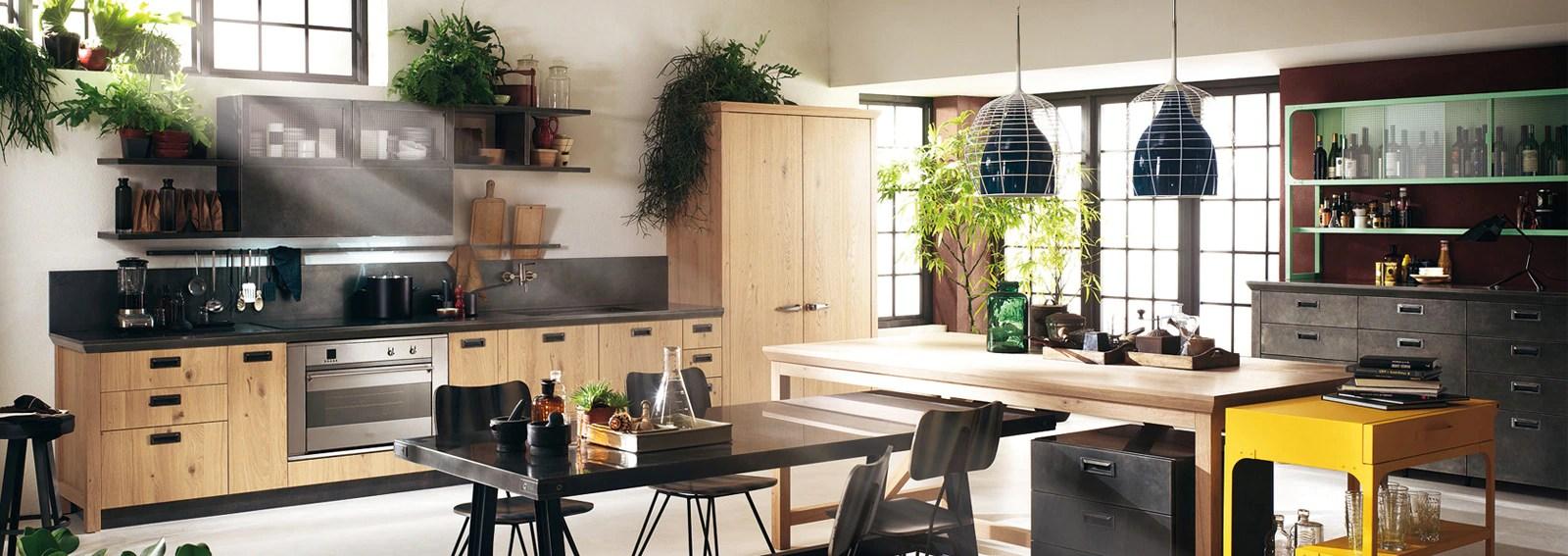 Stile industriale le cucine pi belle  Graziait