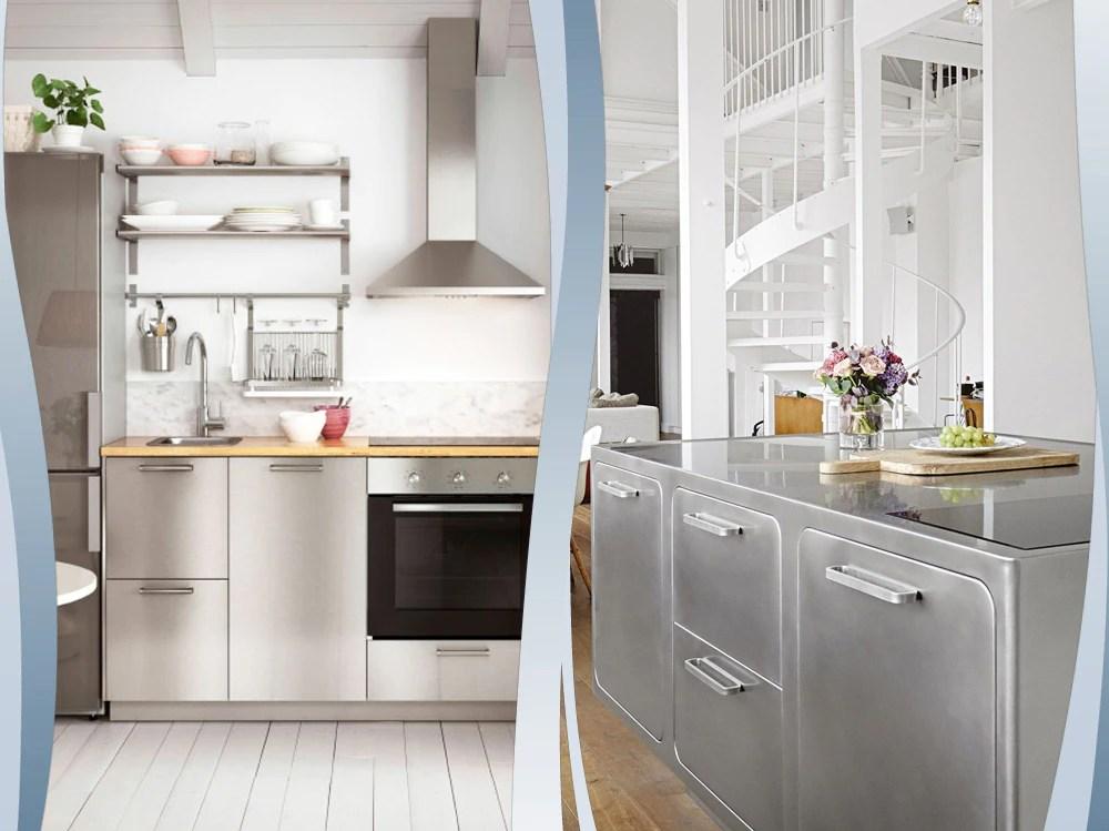 Le cucine in acciaio direttamente dai ristoranti pi