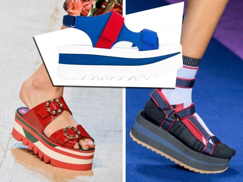 Risultati immagini per scarpe light platform tendenze estate 2017