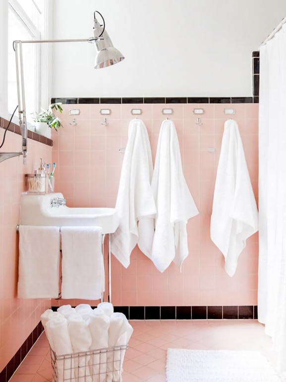 Piastrelle Bagno Rosa Great We Found Images In Piastrelle