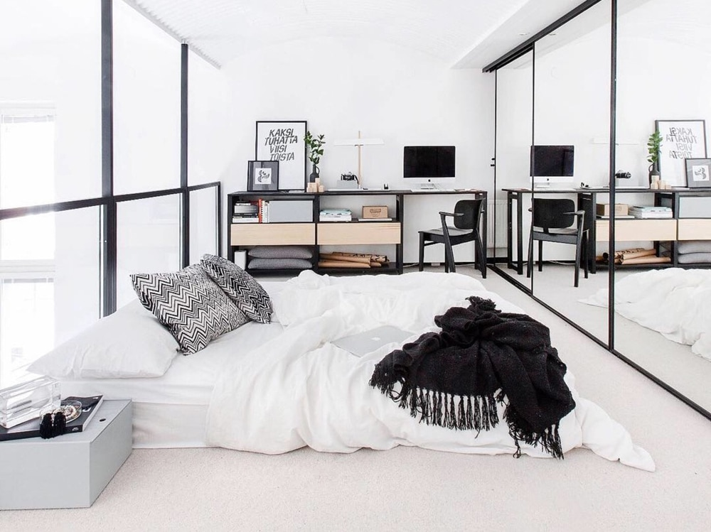 Come disporre correttamente i mobili in camera da letto  Graziait