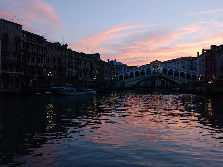 venezia ponte canale