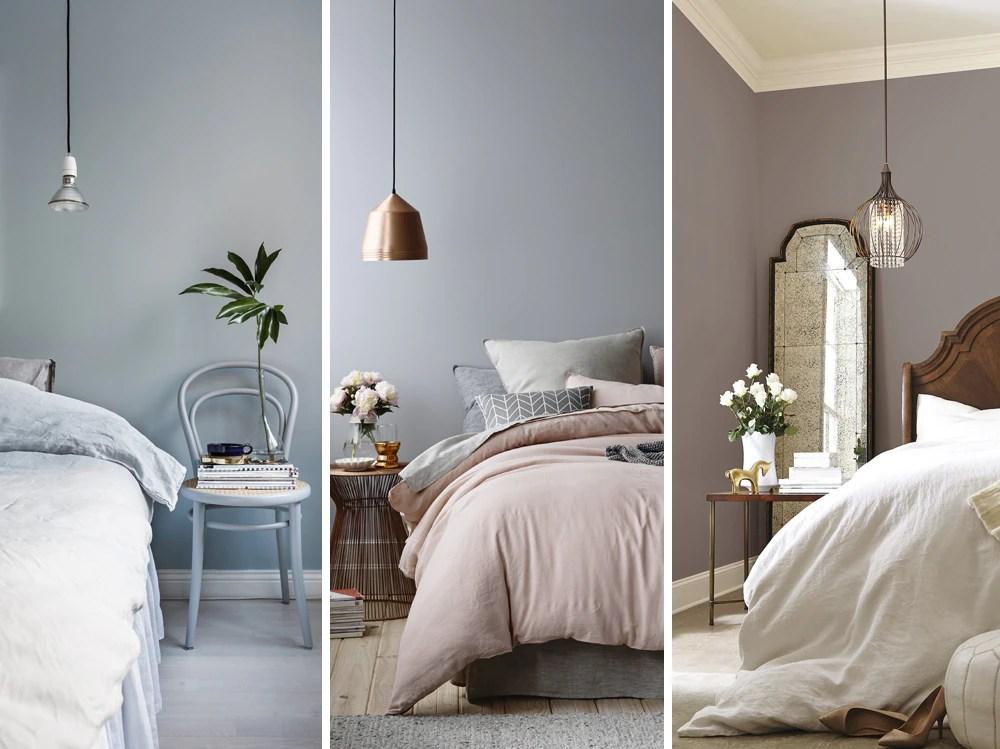 Colori pareti camera da letto classica. 8 Coppie Di Colori Perfette Per La Camera Da Letto Grazia It
