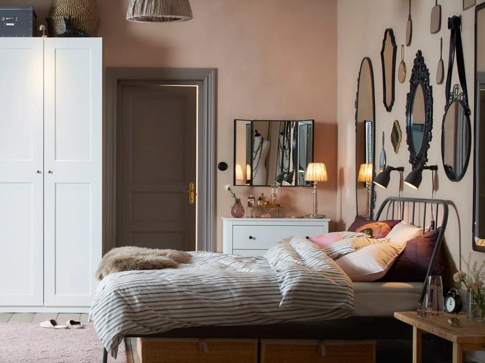 La ditta ikea produce letti matrimoniali con una larghezza di 140, 160 e 180 cm, e le singole. Camera Da Letto Ikea 10 Idee Da Copiare Subito