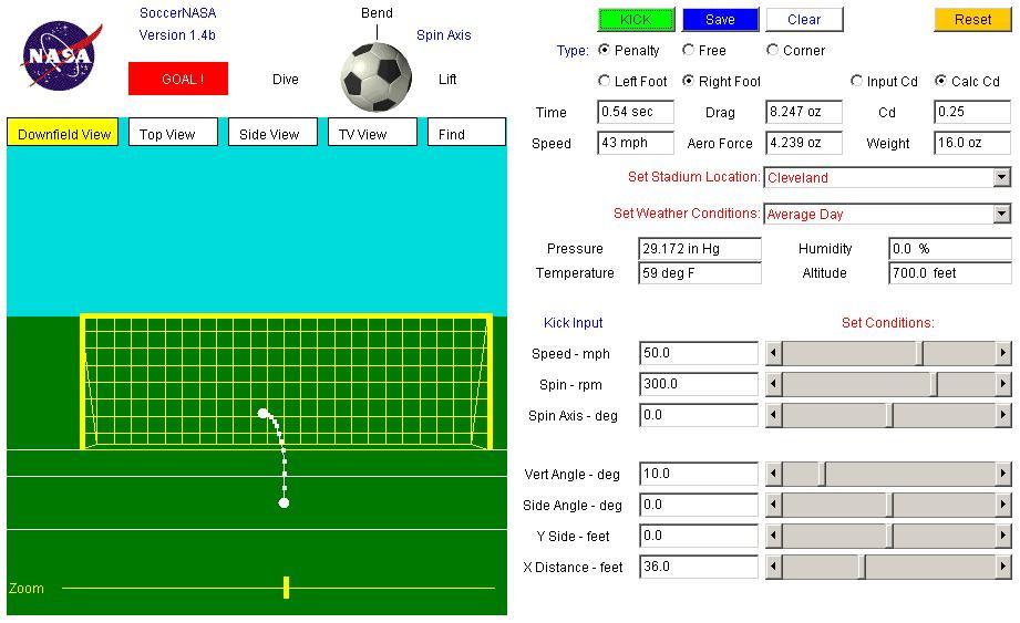 aerodynamics of soccer
