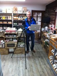 On site at Hawkshead Relish Shop