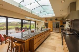 Photo of large modern kitchen