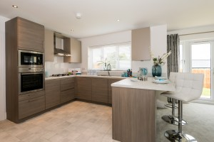 Photo of open plan Kitchen