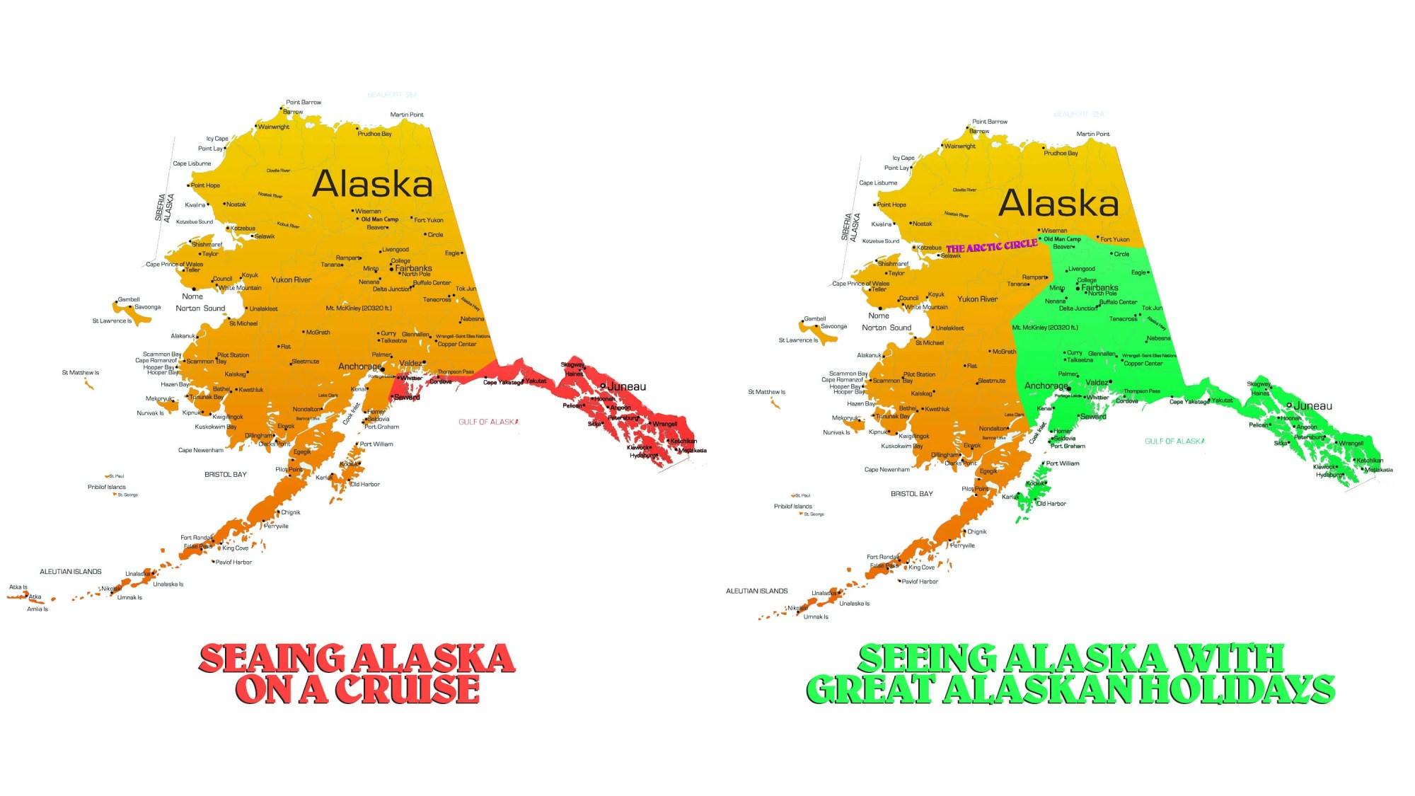 hight resolution of interior alaska cruise
