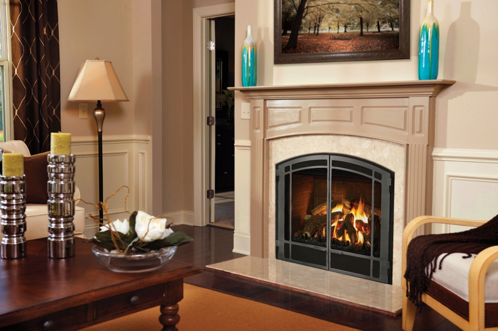 A MENDOTA FV41 Arch  Hearth Products  Great American Fireplace in Menomonie WI