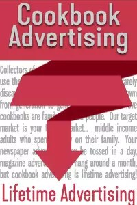 Advertise in a Cookbook for Lifetime Advertising