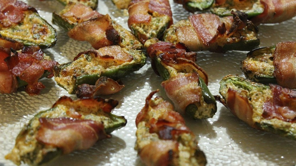 Bacon-Wrapped Stuffed Jalapeño Peppers Recipe
