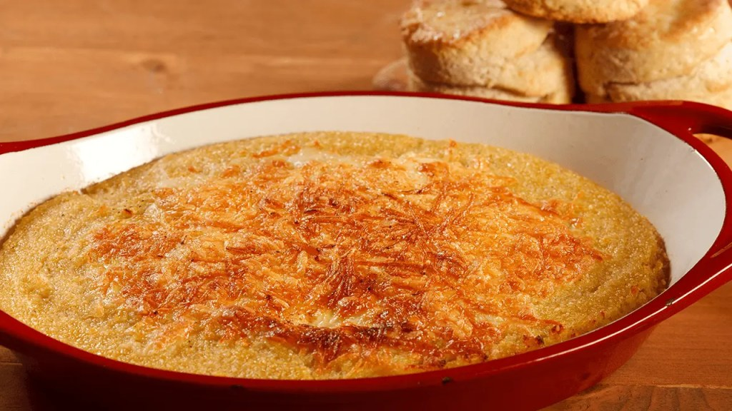 Garlic-Cheese Grits Recipe