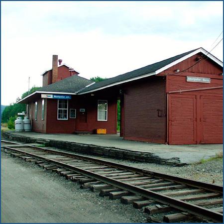 Image result for montpelier vt. train station