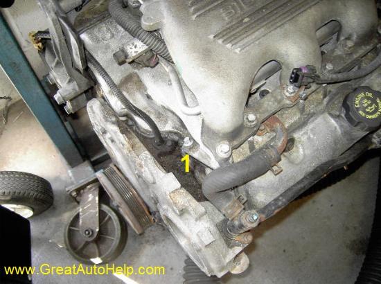 pontiac 2 4 engine diagram plugs
