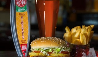 Beer and Burgers Collide when Grilled Pineapple Ale debuts at #GABF2016