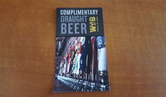 Get Your Fill with my World of Beer Draught Card Giveaway!