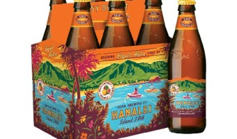 Kona Brewing Launches Hanalei Island IPA in America's Mainland