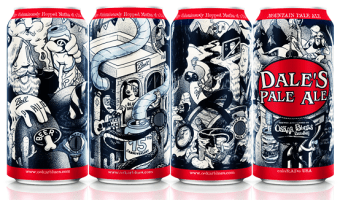 Dale's Pale Ale Celebrates 15 Years of Metal Packaging