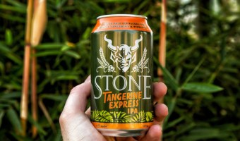 Stone Tangerine Express IPA is Now in Cans