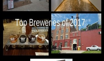 Top 5 Brewery Visits of 2017