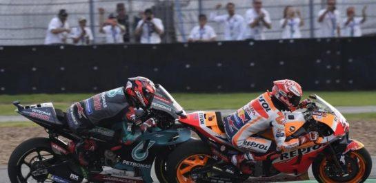 Marc Marquez : Quartararo ฟอร์มแจ่มพอกับ Lorenzo ในยุคที่พีคๆ กับ Yamaha