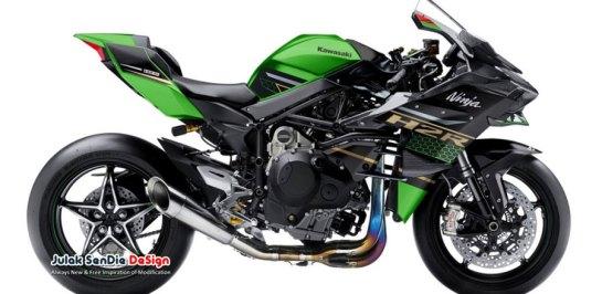 ชมภาพ render Kawasaki Ninja 250 H2R ซุปเปอร์ชาร์จ!