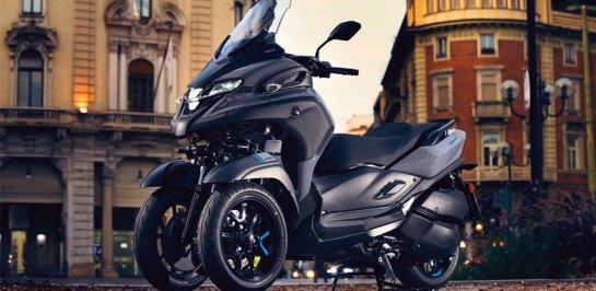 New Yamaha Tricity 300 บิ๊กสกู๊ตเตอร์คันใหม่ ลุ้นขายไทยเต็มตัว!