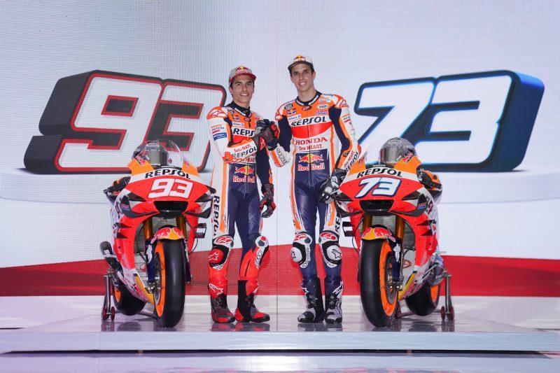 เปิดตัวทีมแข่ง Repsol Honda MotoGP2020