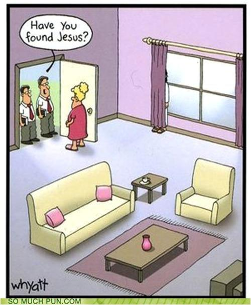 jesus hiding found jesus joke