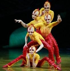 cirque du soliel - move to montreal