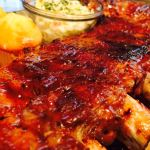 The Ultimate BBQ Spareribs – Rubbed, Pressure Cooked, Grilled and Glazed !!!