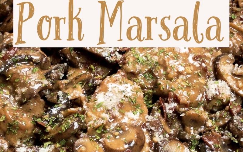 Instant Pot Pork Marsala